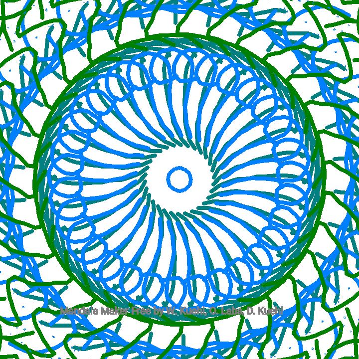 greeny mandala